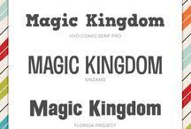 Design / Fonts, graphics etc