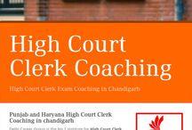 Punjab and Haryana High Court Clerk Coaching in chandigarh