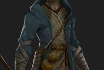 [Monk] D&D Character