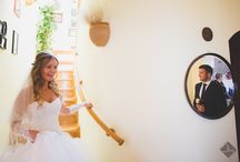 Beautiful Bride & Groom / Reception at the family house