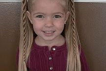 Little Girl Hairstyles / by Angela Larson