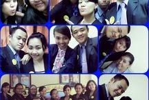 office on Denpasar / Many activity