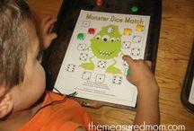 preschool math / by Somerset Davidson