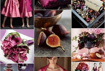 Weddingideas in magenta & fuchsia