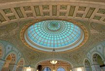 """Great Ceilings of the World /  """"Too often we forget to look up. When you pause and gaze skyward, you lift yourself."""" - Jennifer Tombaugh, Tauck President.   What are some of your favorite views? / by Tauck"""