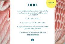 IXXI Wishlist / Wat lijkt het mij geweldig om een prachtige IXXI aan de muur te mogen hebben!