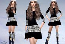 Vêtements Femme Sets - (Sims 4)