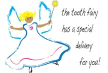 Tooth Fairy / Lost Tooth Cards for Kids / Losing a tooth can be exciting and scary.  Celebrate life's little milestones with a cute tooth fairy card for your child or any lucky kid that's got that proud gap toothed smile from losing a tooth!