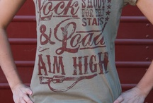 Lock and Load tee by Original Cowgirl Clothing Co.