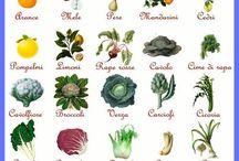Frutta verdura di stagione