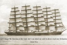 Shipping Quotes / A collection of quotes from or about the shipping industry and sailing.