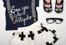 • MONOCHROME KIDS FASHION • / Inspiring monochromatic designer kids outfits we love.