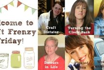 Craft Frenzy Friday / This is a board where every entry from Craft Frenzy Friday will be pinned!