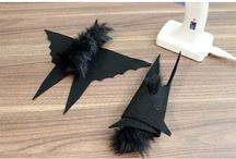 Batty Halloween Craft Ideas / Halloween is a great time of year to get batty with arts and crafts!