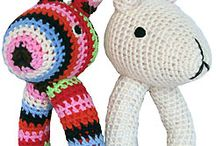 Baby toys knit and crochet