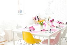 beautiful blush pink / Blush pink home interiors inspiration