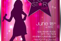 Pop star party