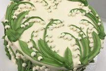 торт оформление