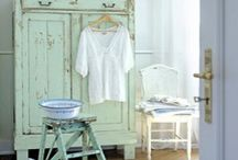 Vintage furniture and house things