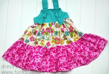Abby: Dresses Ruffled Tiered Wrap Fancy Nightgowns / by Kenny Burns