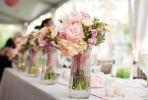 Wedding weekend / Table settings, cute final touches and pretty party ideas