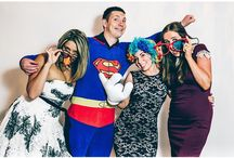 PHOTO BOOTH!!! / a.k.a. Fun Booth, Crazy Booth, Giggle Booth... If you want to have a good laugh at your wedding, and have some really funny photos, then look no further...