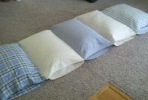 łączone poduszki, siedziska...
