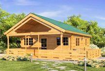 Casas de Madera modelo Niza / Casas de madera modelo niza de macizo 45mm y 60mm.