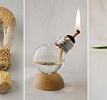 lampade di sale dell'himalaia