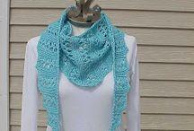 Knitting- scarves