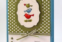 Stampin' Up: For the Birds
