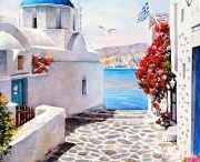 Greek Artwork / by Jennifer Zografos