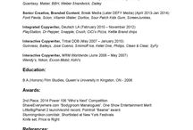Resume / by Jason Pickar
