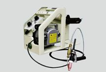 Tank girth welder / The Tank girth welder machine is driven by motors, controlled by the PLC, assisted controlled by electrical relay, hydraulicpress structure.