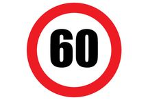 Speed Limit Signs / Looking for Printable 60 MPH Speed Limit Sign Sign. Then this one is for you. Print it and use it where you need to apply these speeds.