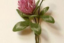 Felting - войлок - цветы