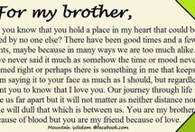 ❤️for my brother ❤️