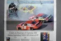 Nascar, Dale Earnhardt Sr. & Jr. / by Duane Vincent