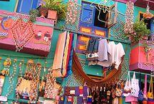 """Lovely Places - Colombia / """"La vida no es la que uno vivió, sino la que uno recuerda, y cómo la recuerda para contarla"""". Gabriel García Márquez"""