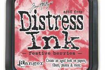 Tim Holtz Distress Inks from Becka B / Crafting items