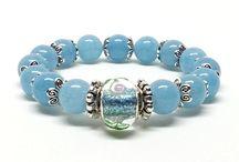 Stone Bracelets / Beaded stone bracelets, with healing properties.