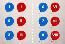 Liczby rzymskie / Liczby rzymskie - jak czytać i tworzyć liczby rzysmkie i zamieniać je na liczby arabskie. I odwrotnie :) #łacina #liczbyrzymskie #liczbyarabskie