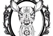 reindeer tattoos