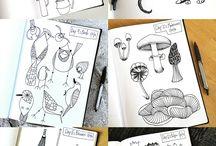 Draw daily sketch