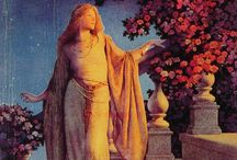 Maxfield Parrish paintings