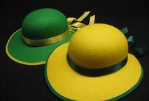 chapeaux catherinette - Sainte Catherine / Nombreux chapeaux de Catherinettes de fabrication Française
