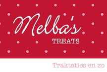 Melba's Treats / Traktaties! A little treat from the birthday pirate/princess to their friends/classmates/sports friends. Melba's treats; a little treat making company.