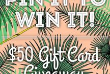 Page 6 Pin it to Win it / by Caroline Gilreath
