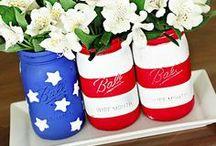 red | white | blue / by Brittney Salyer