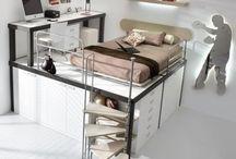 Space saving bedrooms